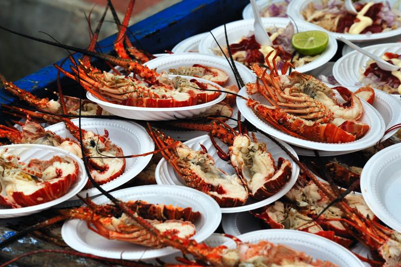 islas-del-rosario-food