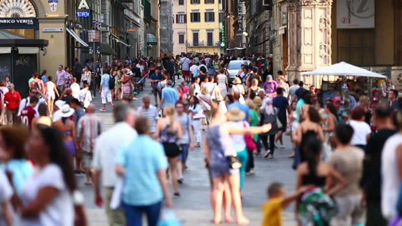 tourists-florence